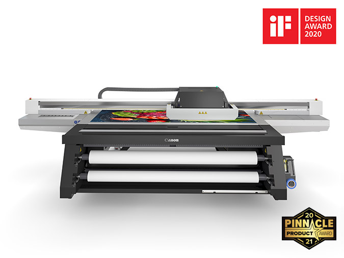 Arizona 1300 Series Flatbed Printers iF Design Award 2020