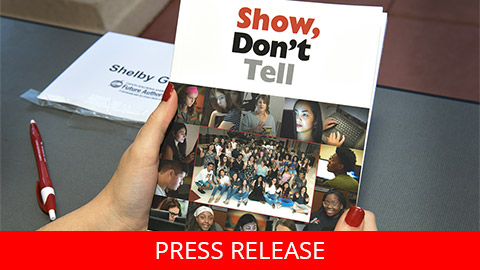 "<h2 dir=""ltr"">Canon Solutions America Unveils ""Show, Don't Tell,"" the Latest Published Collection from the Future Authors Project of Palm Beach County School District</h2>"