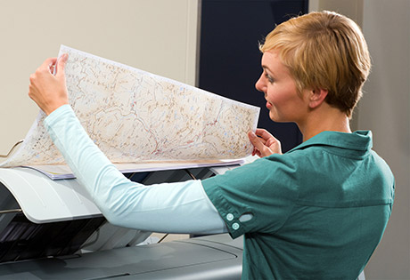 Large Format map plotting workflow solutions that improve print quality and speed of file output.