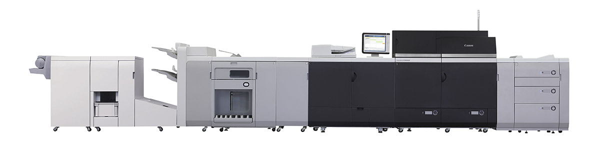 Image of a Canon imagePRESS C10010VP Color Cutsheet Press