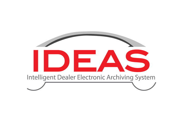 Logo for Intelligent Dealer Electronic Archiving System (IDEAS)