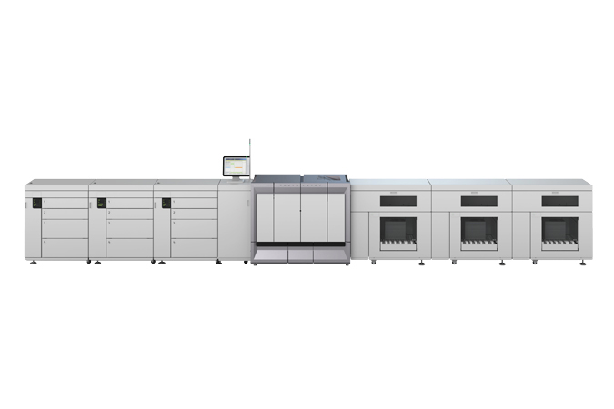 Image of a varioPRINT 6000 TITAN Series printer