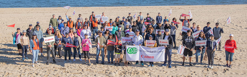 For 22 years, the Canon Clean Earth Crew has volunteered to help beautify public spaces