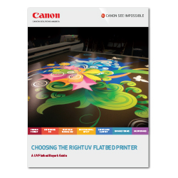 Choosing the Right UV Flatbed Printer Guide cover
