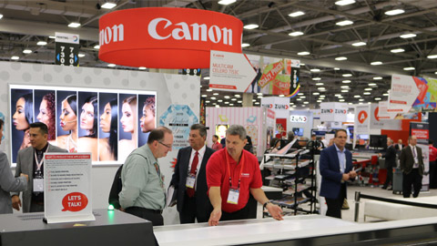 "<h2 dir=""ltr"">Canon Solutions America Fuels New Opportunities at PRINTING United</h2>"