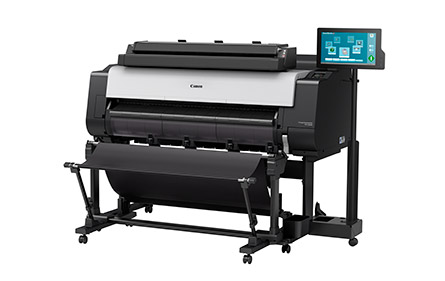 Image of a Canon imagePROGRAF Color Large Format Printer