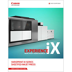 varioPRINT iX-series Brochure Cover